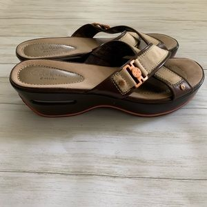 Cole Haan Nike air wedge Sandals 8